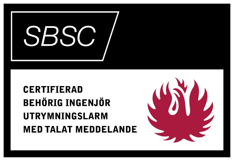 SBSC Talat Utrymningslarm